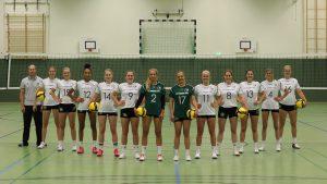 Dritte Liga Nord   GWE  vs  USC Magdeburg @ Stadtteilschule Stellingen