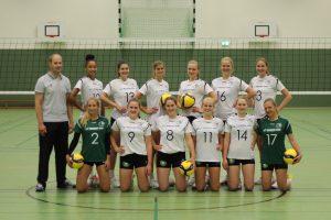DL Frauen  GWE vs  Halle Hurricanes @ Stadtteilschule Stellingen